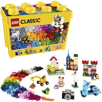 レゴブロック黄色のアイディアボックス